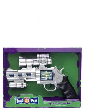Space Pistole mit Licht und Ton