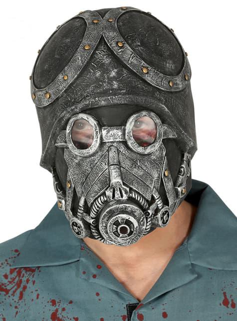 Máscara de soldado del apocalipsis para adulto