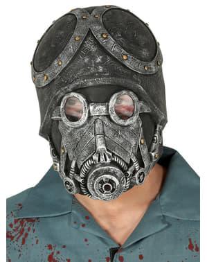 Máscara de soldado do apocalipse para adulto