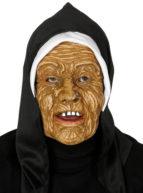 Scary Nun Mask for Adults
