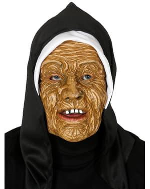 Máscara de monja terrorífica para adulto