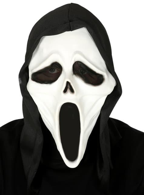 Máscara de asesino en serie para adulto