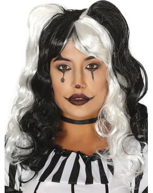 Parrucca da psicopatica per donna