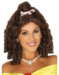Parrucca da principessa bella per donna