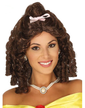 Curly-Haired Princess Wig for Women