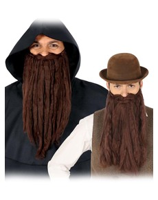 529357f180a Beards and moustaches for a hairy costume