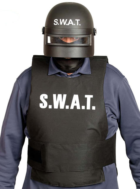 Casco de SWAT antimotines para adulto