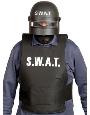 Capacete de SWAT anti-motins para adulto