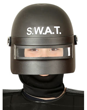Casco de SWAT antimotines infantil