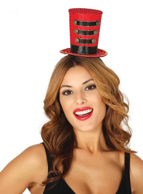 Chapéu pequeno de domador para mulher