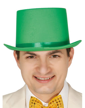 Elegant green hat for adults