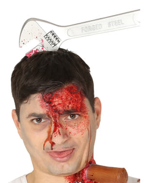 Skiftenøkkel i hodebånd til voksne
