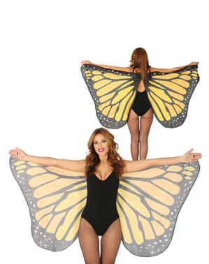 वयस्कों के लिए तितली पंख