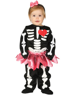 Skeleton with Tutu Costume for Babies
