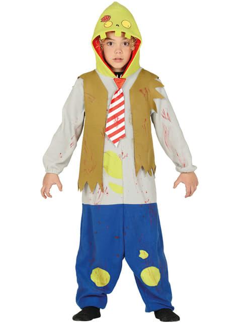 Fato de zombie onesie infantil