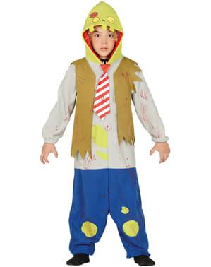 Zombie onesie kostuum voor kinderen