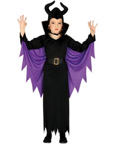 Böse Hexe Kostüm für Mädchen