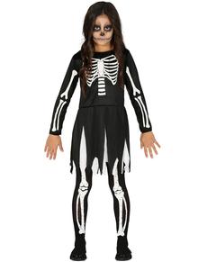 Costumi di scheletro per bambini e bambine  f3c86a07f44