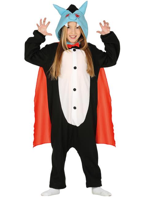 Vampier onesie kostuum voor kinderen