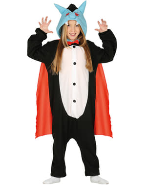 Vampire onesie costume for kids