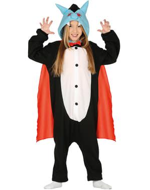 Vampyr onesie kostyme til barn