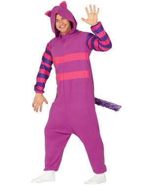 Фіолетовий пустотливий кіт onesie костюм для дорослих