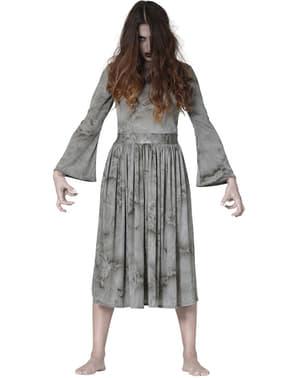 Déguisement zombie terrifiante femme