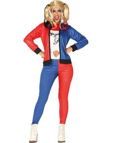 farlig Quinn kostume til kvinder