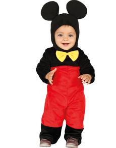 Klein muisje onesie kostuum voor baby's