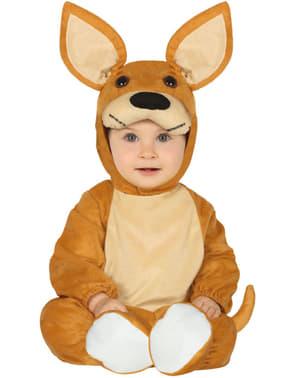 Strój kangura dla małych dzieci