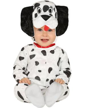 Disfraz de perro dálmata para bebé