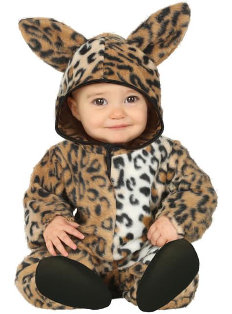 Disfraz de leopardo adorable para bebé