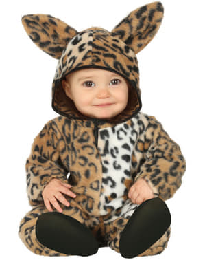 Adorable leopard costume for babies