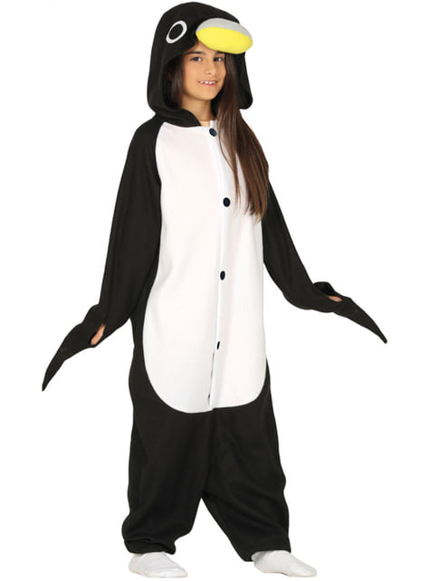 Disfraz de pingüino onesie infantil