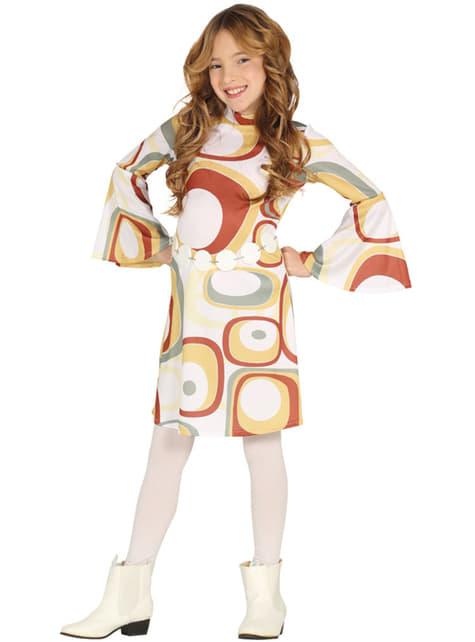 70-talls disko kostyme til jenter