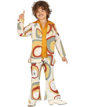 Disfraz de disco de los años 70 para niño