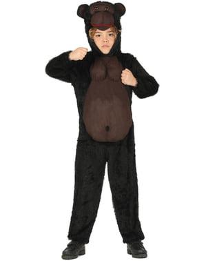 Fato de gorila infantil