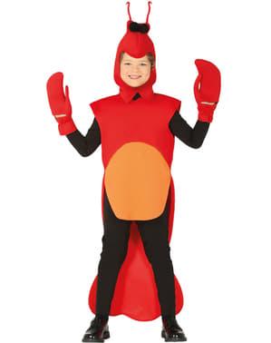 Rivierkreeft kostuum voor kinderen