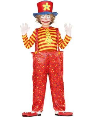 Kleine clown kostuum voor jongens