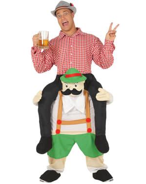 Huckepack Kostüm Tiroler für Erwachsene