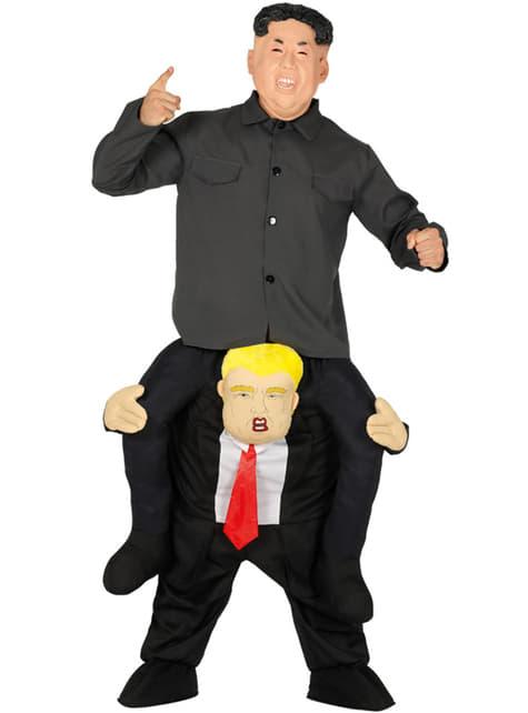 Disfraz de presidente Trump ride on para adulto
