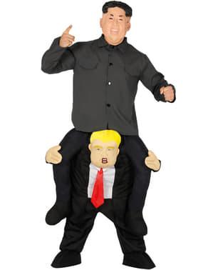 पिग्गबैक राष्ट्रपति ट्रम्प कॉस्टयूम