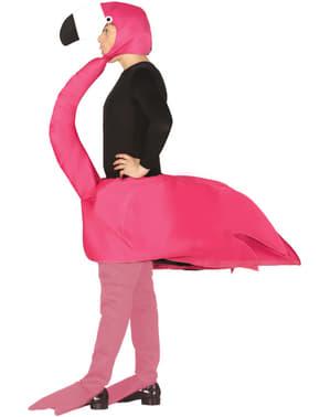 Fato de flamingo para adulto