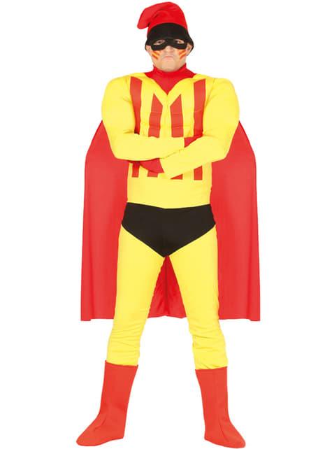 Disfraz de supercatalán para hombre