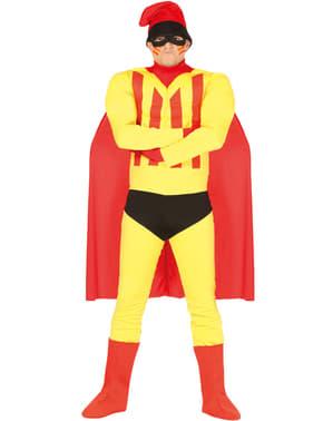 Fato de super-catalão para homem