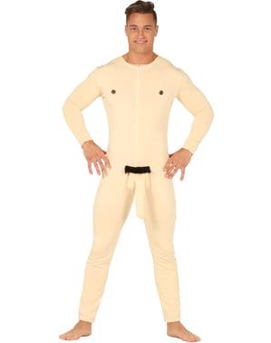 Naakde man kostuum voor volwassenen