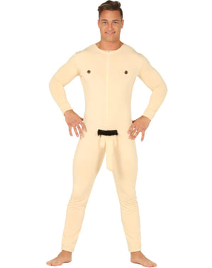 Naked man costume for adults