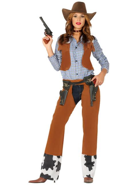 Disfraz de vaquero del rodeo para adulto  - hombre