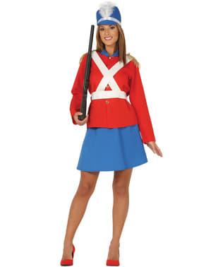 Costume da soldatino di piombo per donna