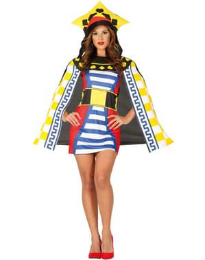 Costume da regina di lettere per donna